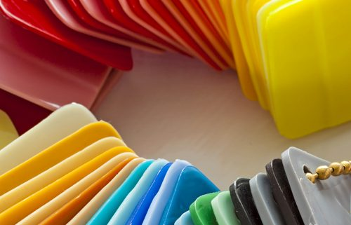 plastics-colouring